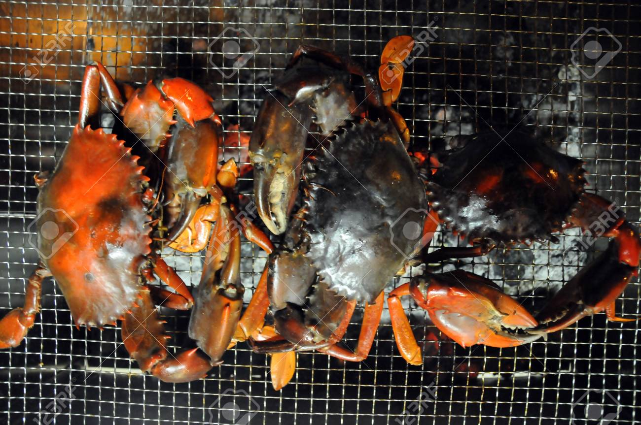 barbeque fresh seafood Stock Photo - 6521515
