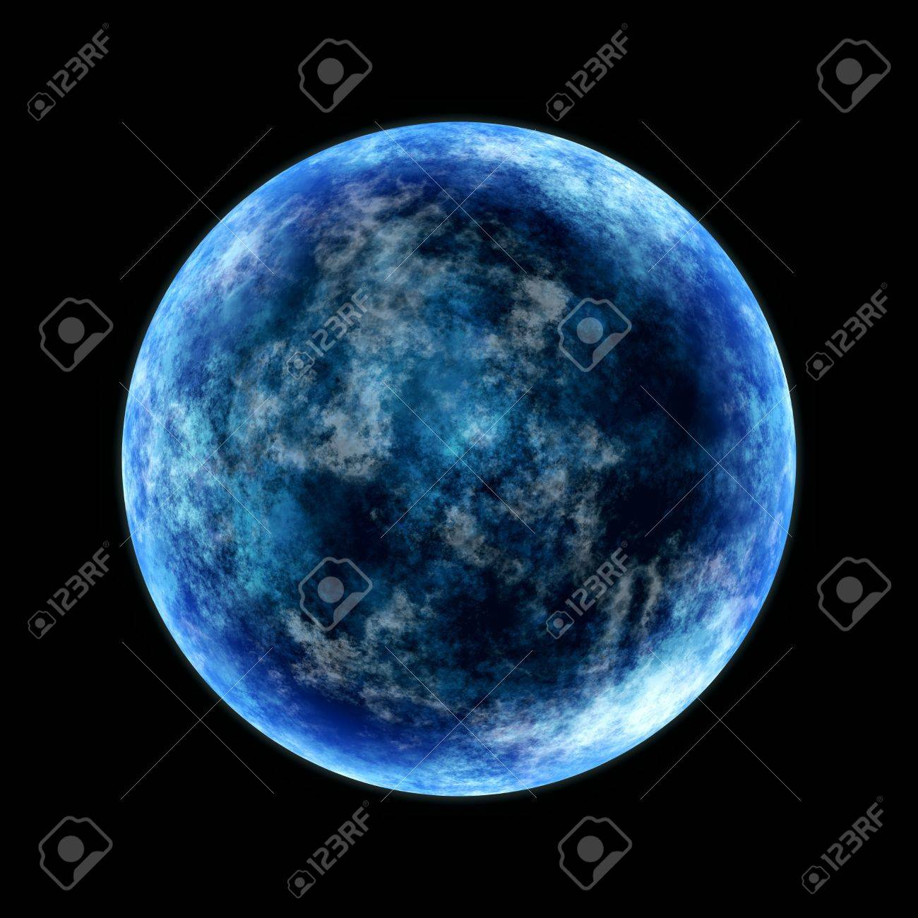 Round Planet In Cold Blue Lighted From The Side Stock Photo Picture And Royalty Free Image Image 4654642 The series premiered on mon may 16, 2016 on bbc and bears (s01e10) last aired on fri jul 01, 2016. round planet in cold blue lighted from the side