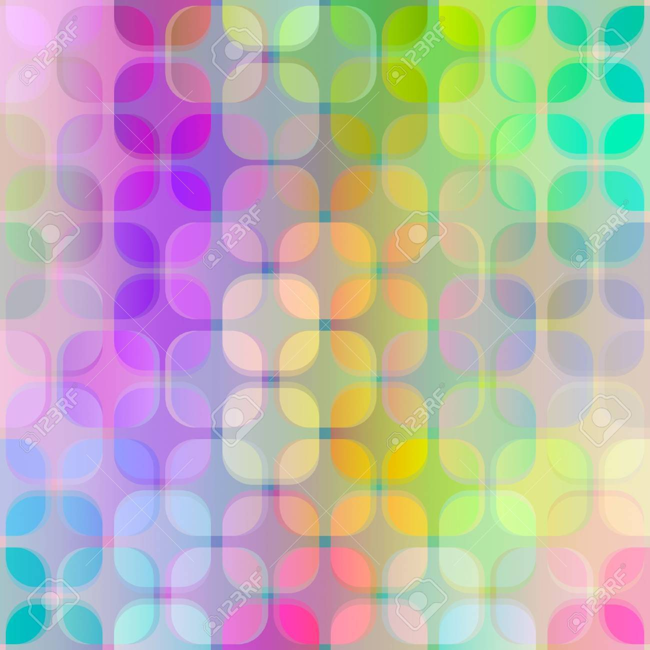 seamless texture of transparent grunge vibrant cube shapes Stock Photo - 4749872