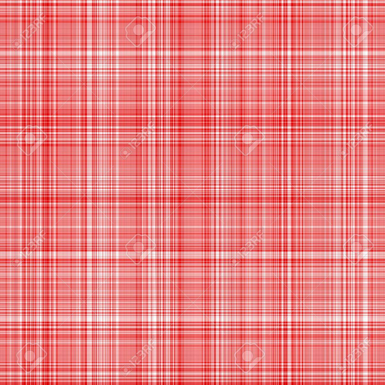 seamless texture of woven square red lines on white Stock Photo - 5491661