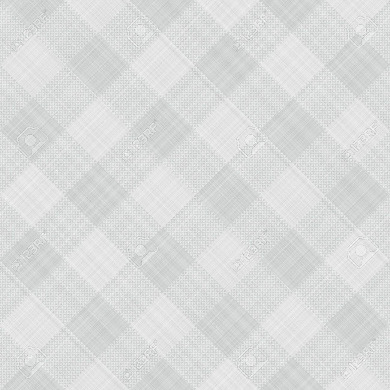 seamless texture of grey and white blocked tartan cloth Stock Photo - 5574601