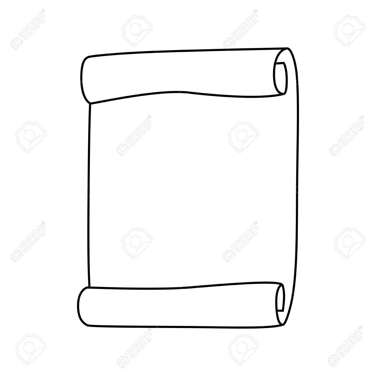 Großartig Scroll Papier Vorlage Frei Ideen - Beispiel Business ...