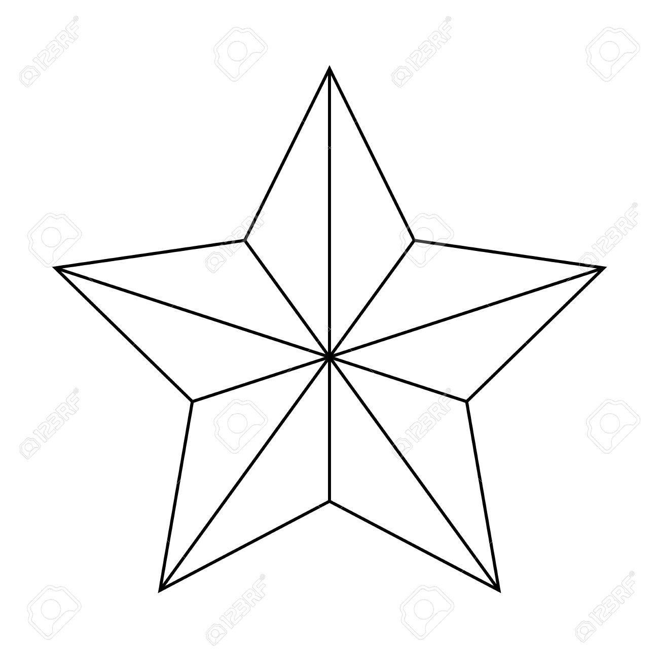 Weihnachtsstern Von Bethlehem Silhouette Vektor-Symbol, Symbol ...