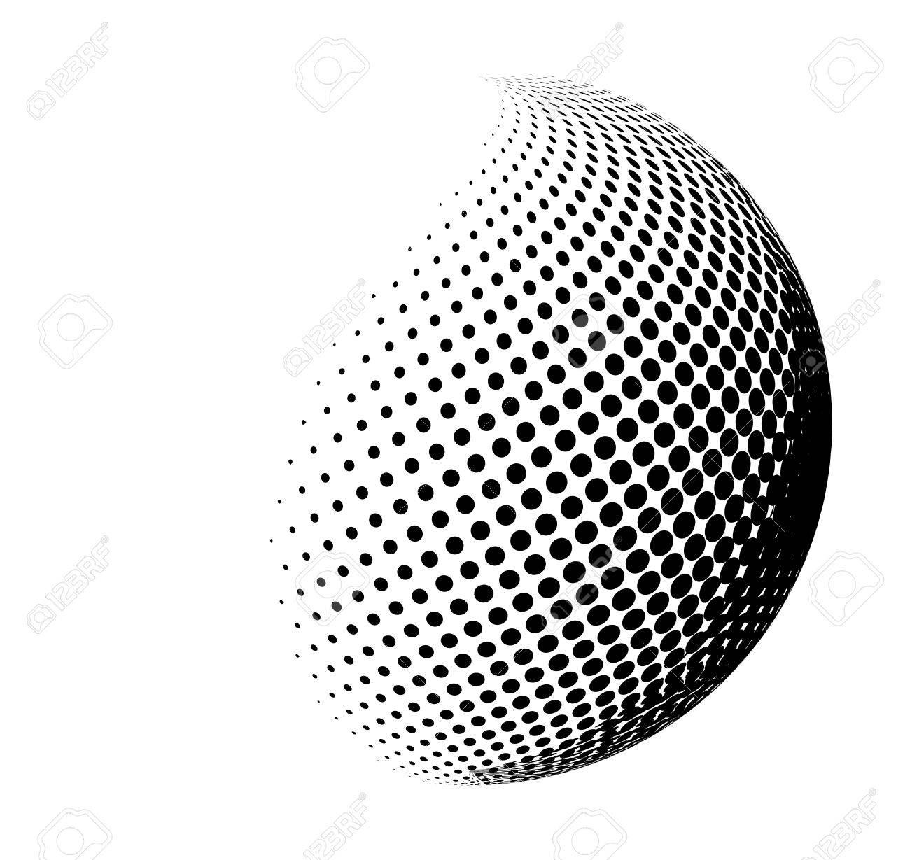 halftone globe sphere vector logo symbol icon design abstract rh 123rf com vector sphere grid vector sphere logo