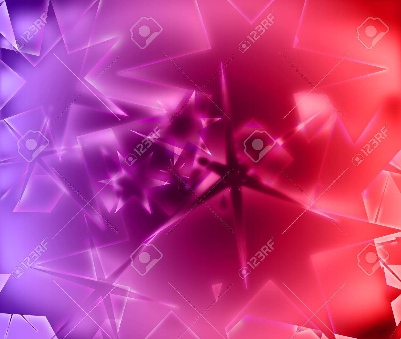 Star Abstract Background Beautiful Banner Wallpaper Design