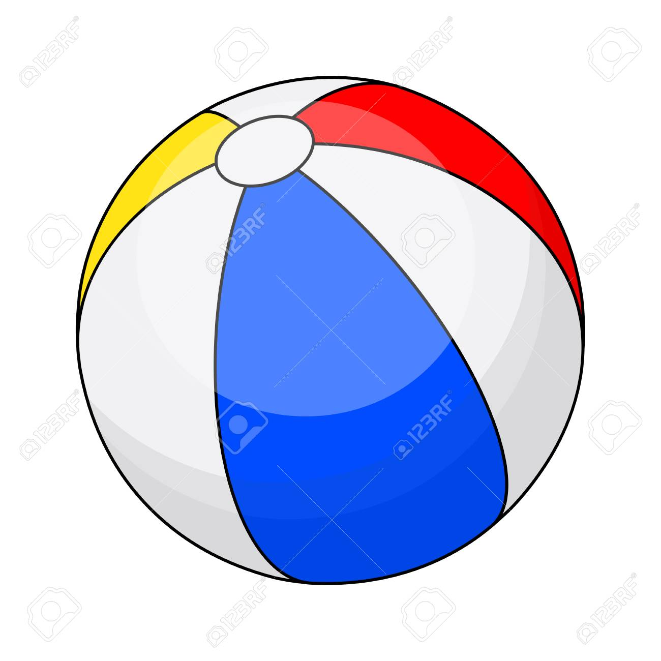beach ball vector symbol icon design beautiful illustration rh 123rf com mac beach ball vector beach ball vector png
