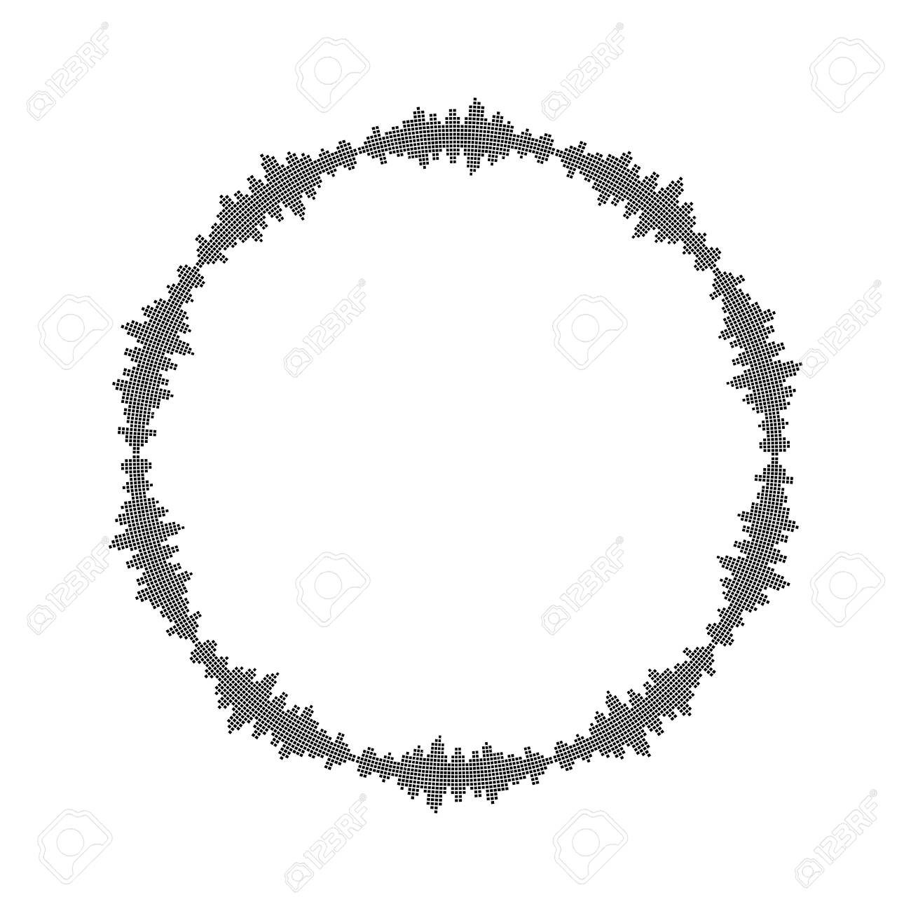 equalizer music sound wave circle vector symbol icon design royalty rh 123rf com sound wave vector black and white sound wave vector graphic free