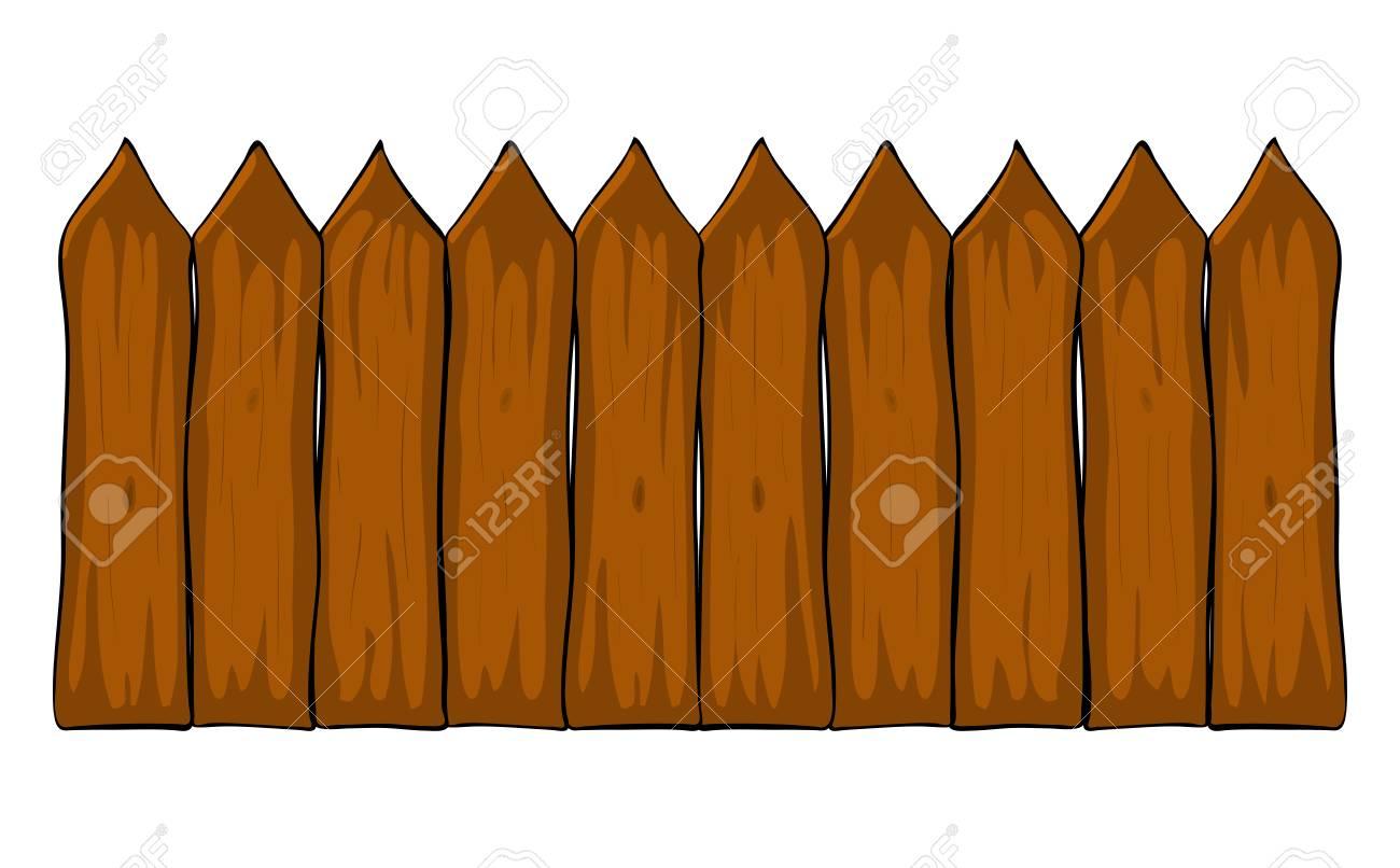 Zaun Cartoon Vektor Symbol Symbol Design Schone Abbildung Isoliert