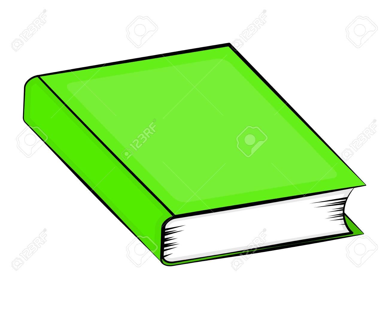 Geschlossenes Buch Cartoon Vektor Symbol Icon Design. Schöne ...