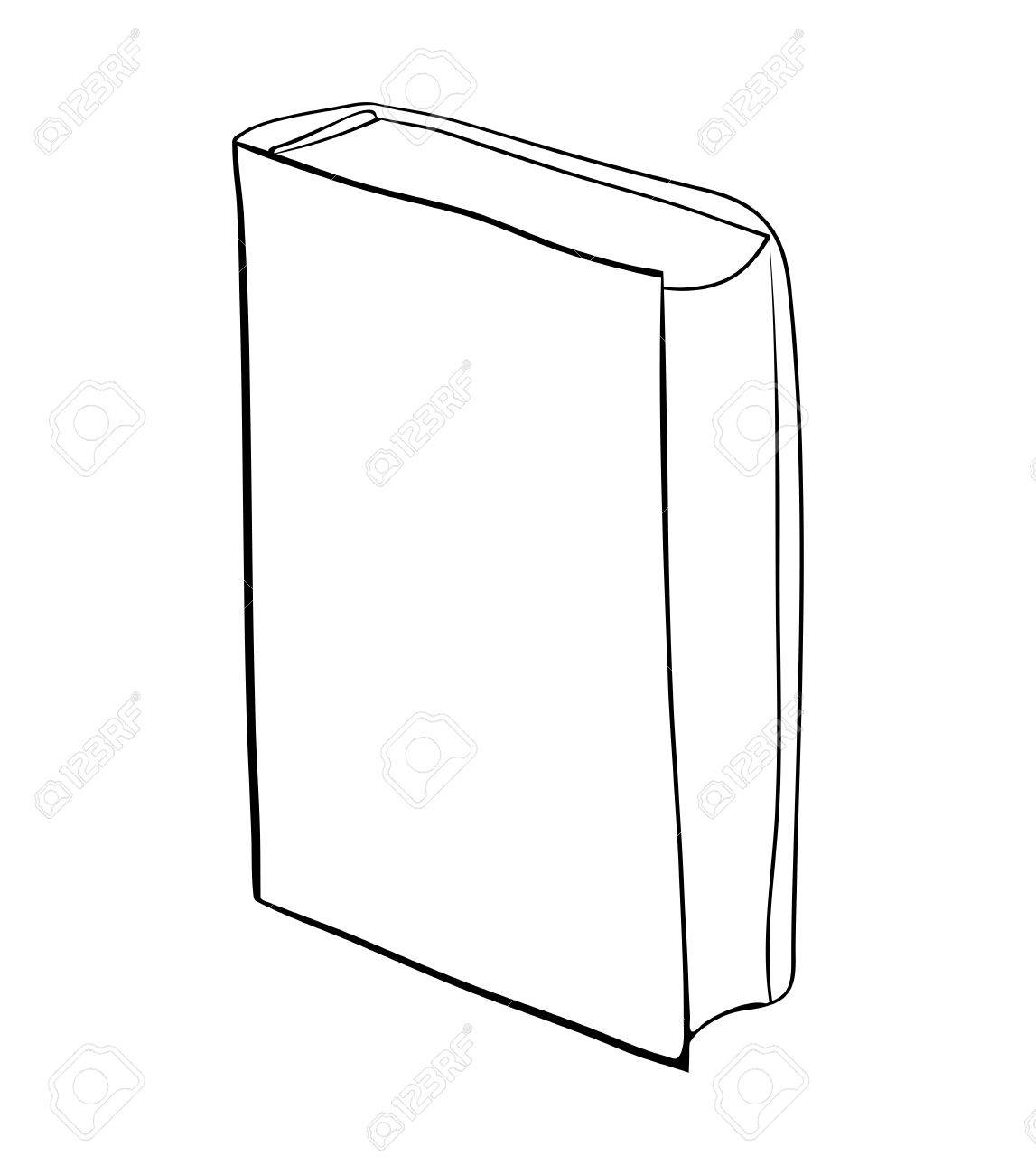Livre Ferme Debout Dessin Anime Vecteur Symbole Icone Design Belle Illustration Isolee Sur Fond Blanc