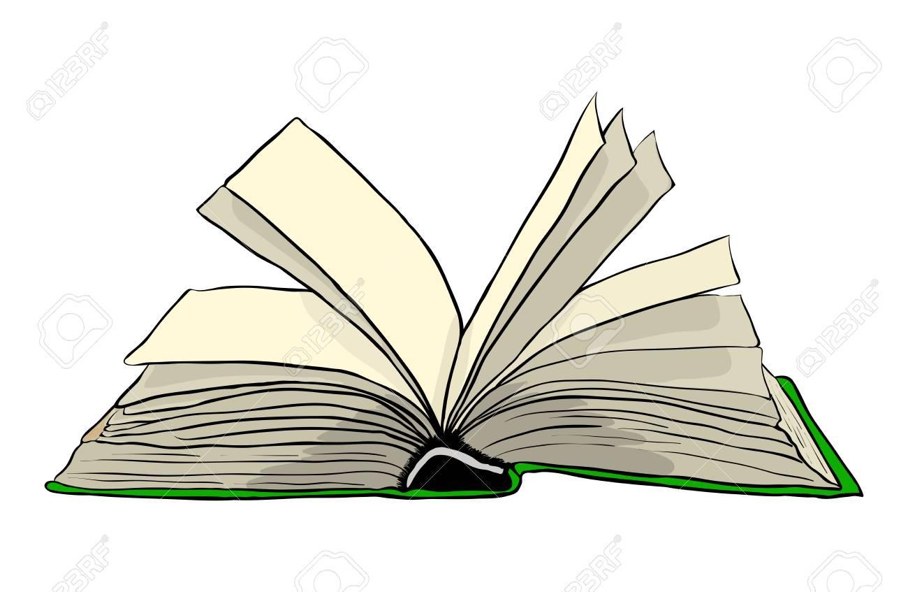 Ouvrir Le Livre Vecteur Symbole Icone Design Belle Illustration Isolee Sur Fond Blanc