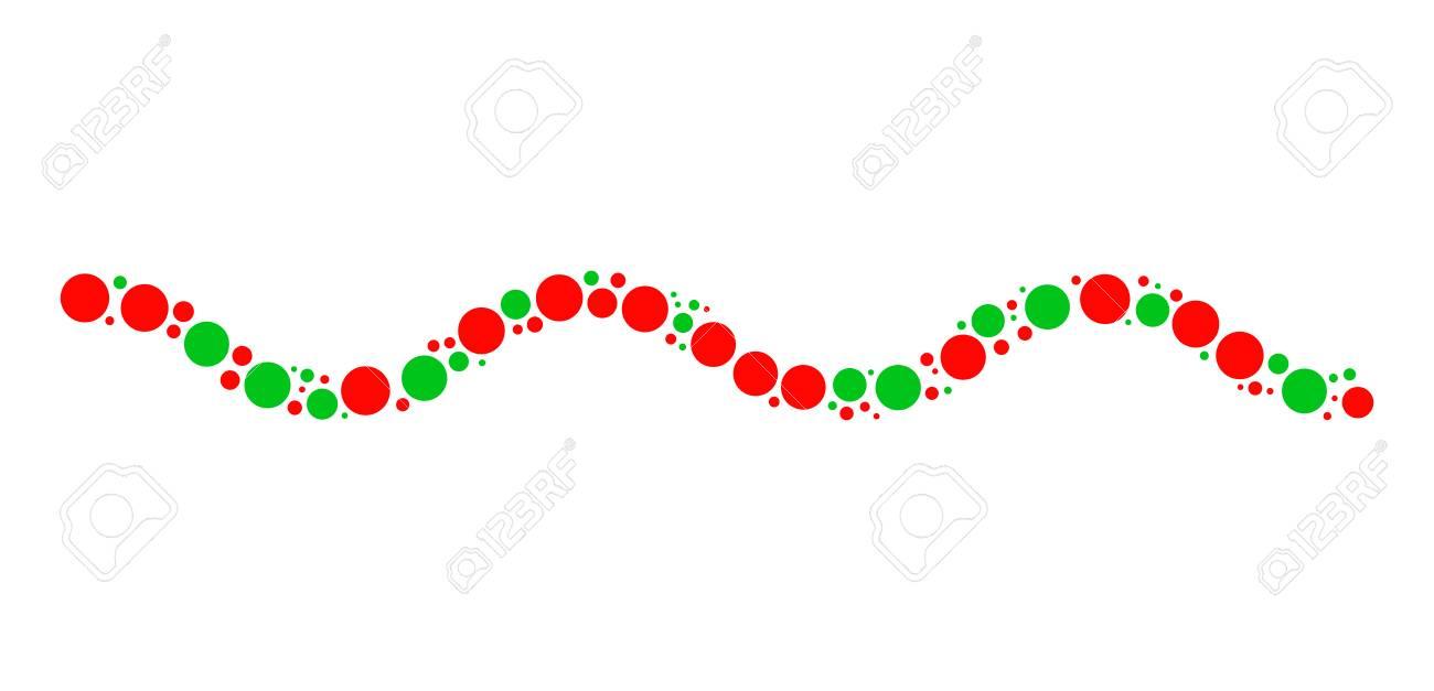 クリスマス枠デザインが点在しますのイラスト素材ベクタ Image