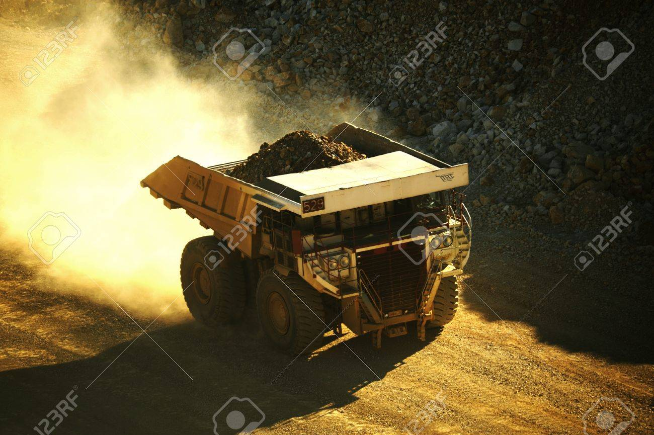 Heavy Duty Mining Truck. One of the World\ - 10635934