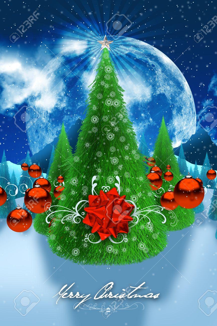 Christmas Wishes Holiday Postcard Season Greetings Theme Beautiful