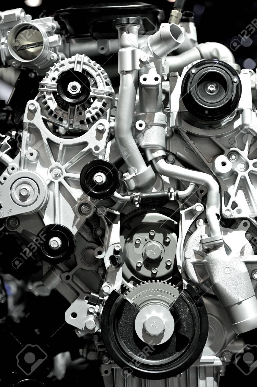 Aluminium Modern Powerful And Economic Car Engine Vertical Photography Stock Photo Picture And Royalty Free Image Image 12787399