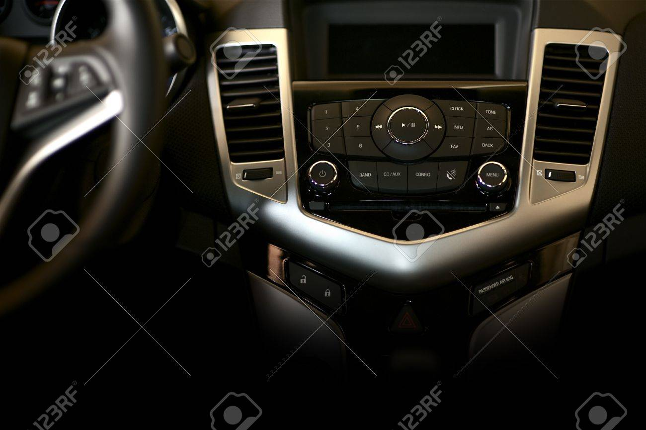 Dark Car Dashboard Horizontal Studio Photography Modern Car Stock Photo Picture And Royalty Free Image Image 12789837