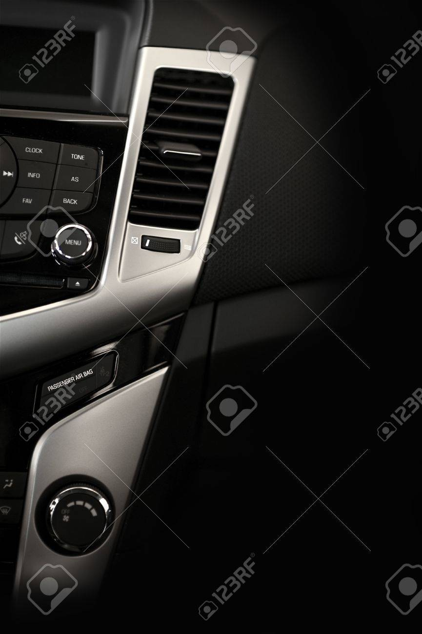 Modern Car Dashboard Vertical Studio Photography Dark Vehicle Stock Photo Picture And Royalty Free Image Image 12788417