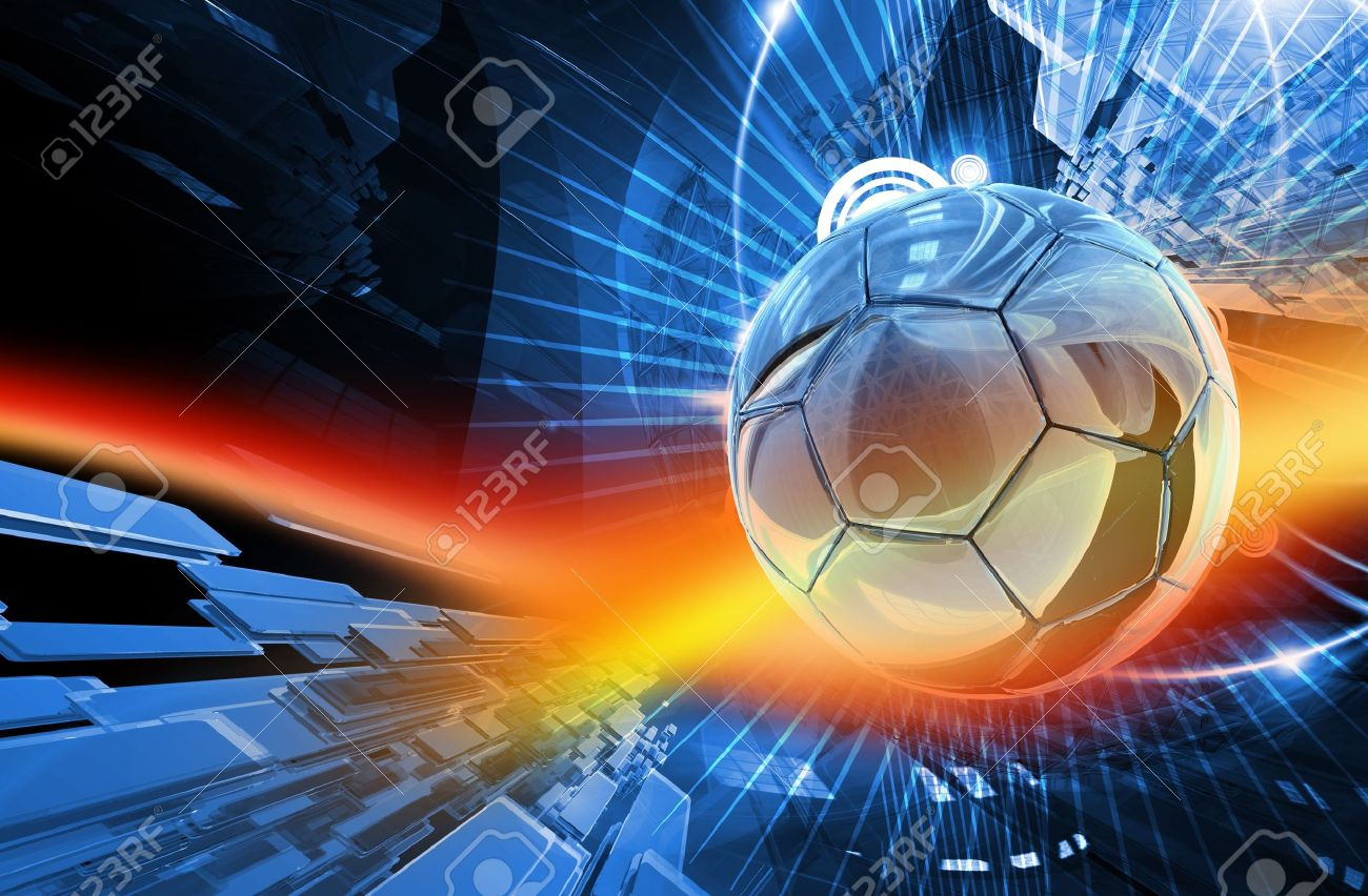 Global Football Action Background Cool Blur Red Action Background