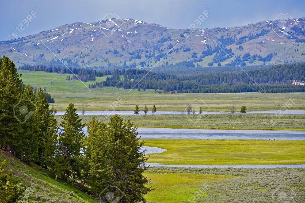 Scenic Yellowstone National Park In Wyoming USA Yellowstone - Us national parks yellowstone