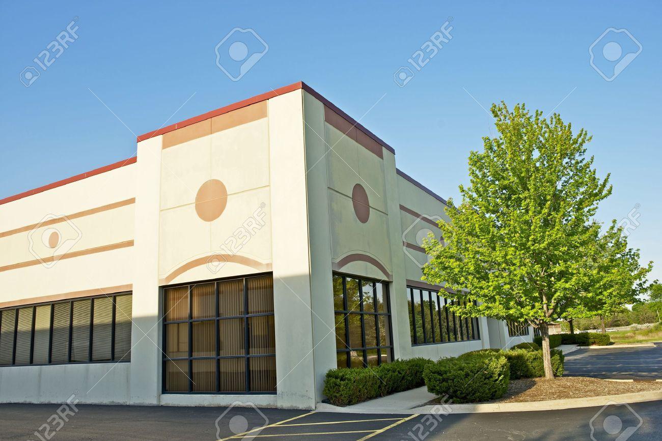 Commercial building b timent détail espace coin de bureau