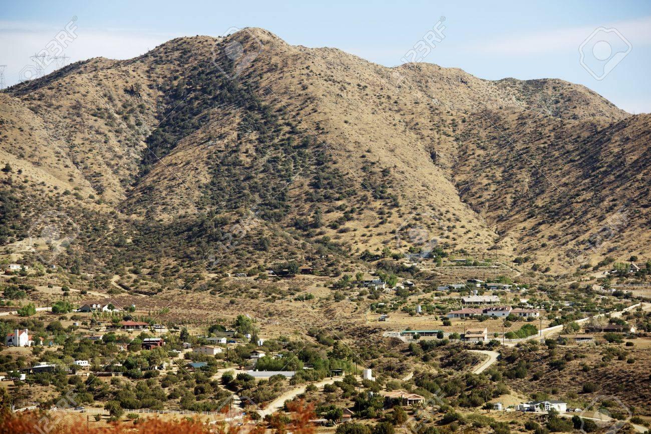 Acton California Near The Antelope Valley City Of Acton Stock