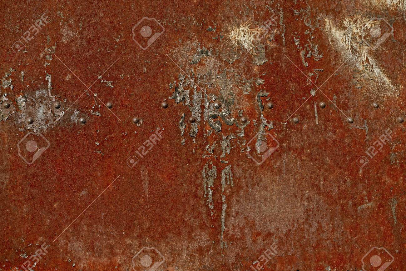 Rusty Red Metal Backdrop. Rusty Texture Stock Photo - 22451162