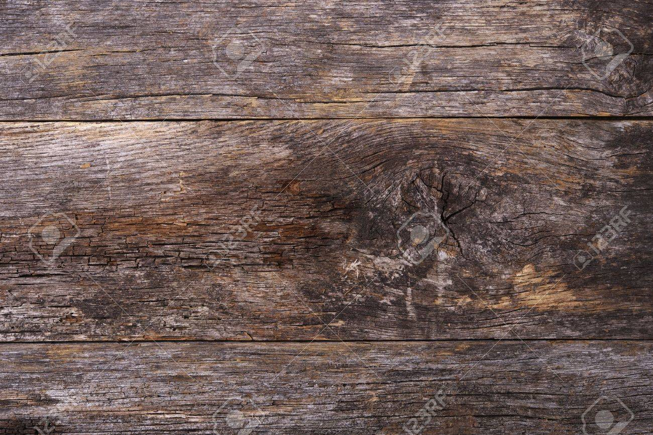 Di Età Compresa Tra Sfondo Legno. Vecchio Legno Di Recupero Plank ...