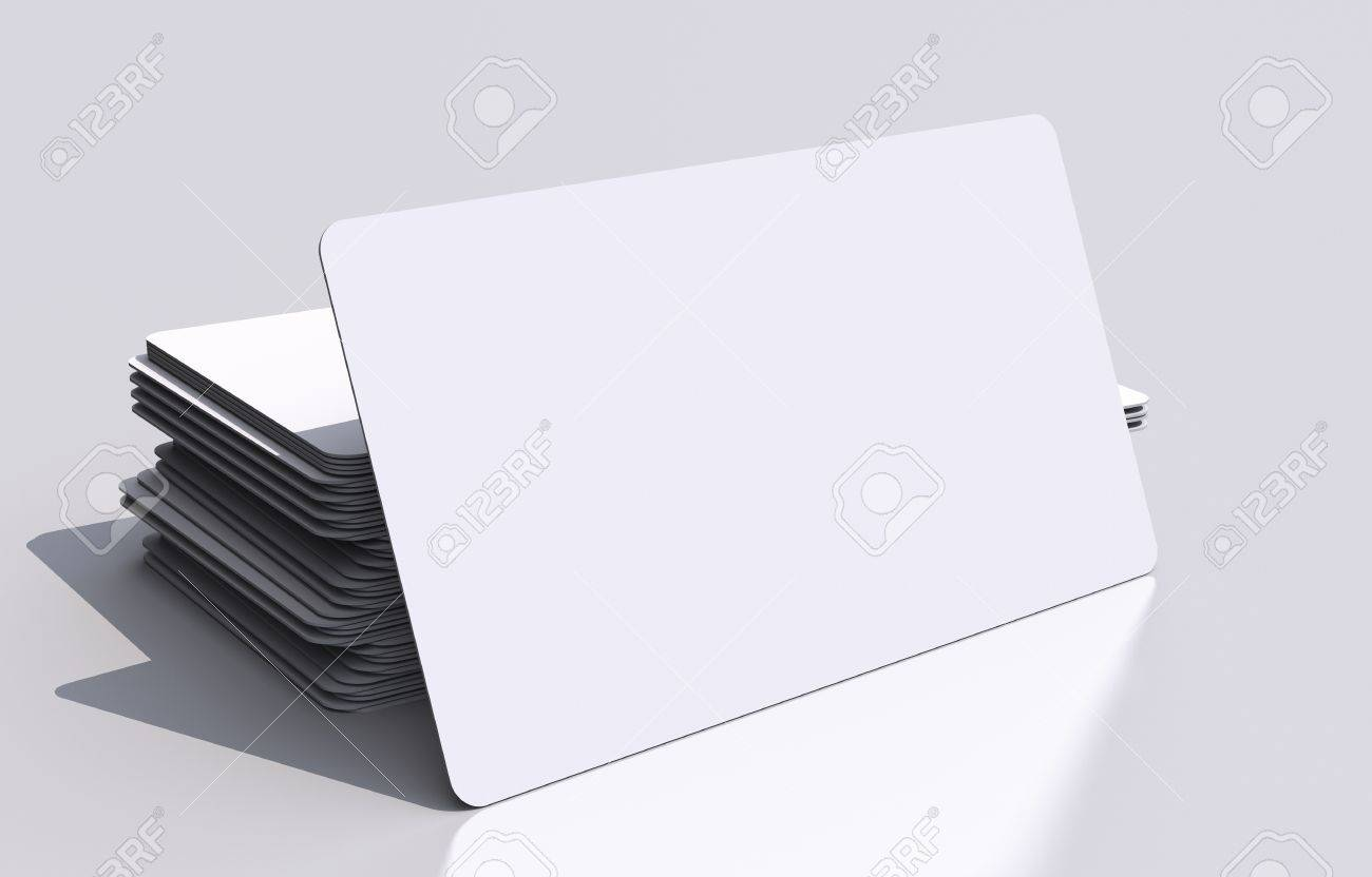 White blank business cards mockup rounded corners 3d business illustration white blank business cards mockup rounded corners 3d business cards illustration visual communication concept reheart Image collections