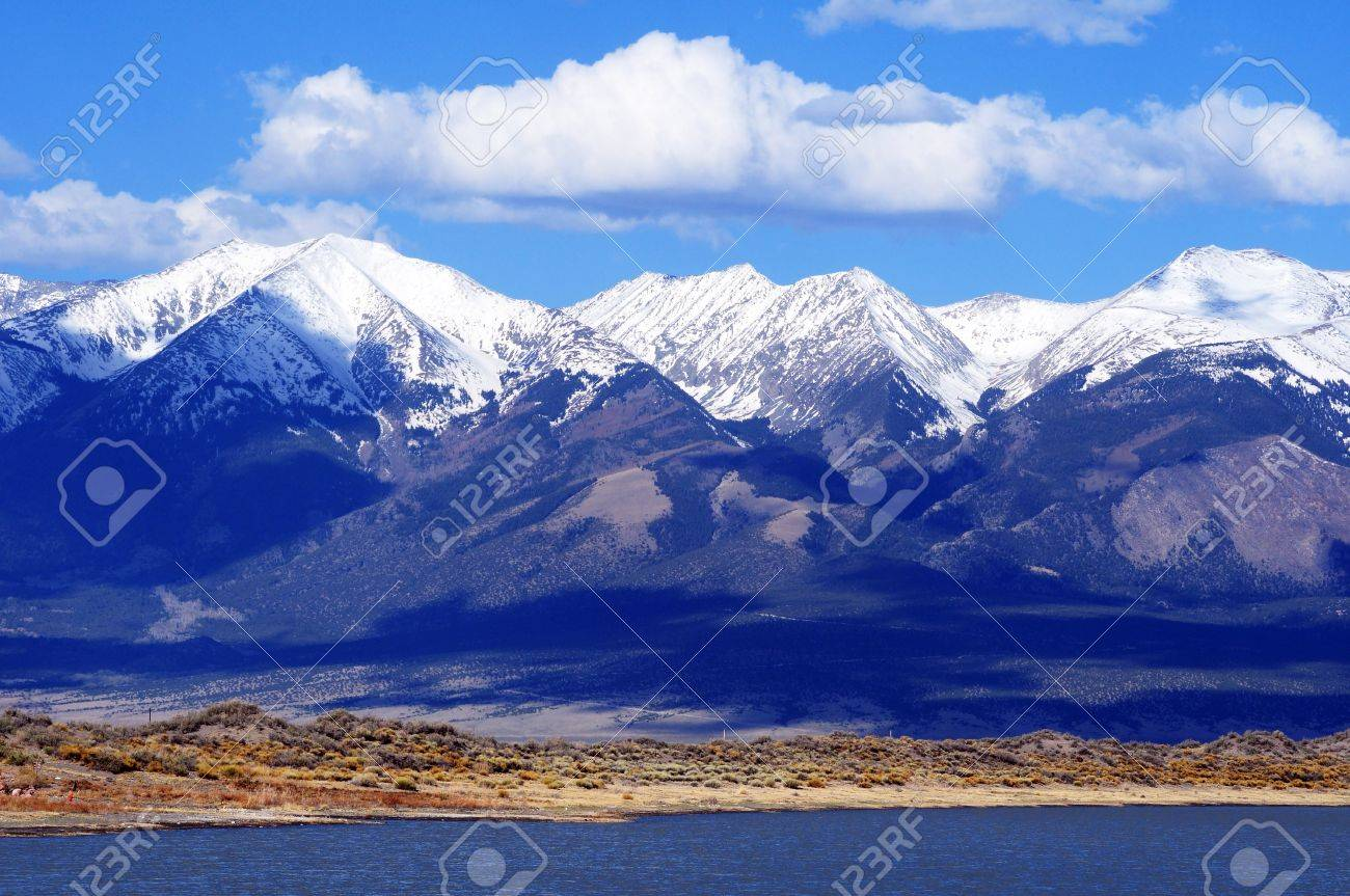 First Mountain Snow In Colorado United States Rocky Mountains - United states mountains