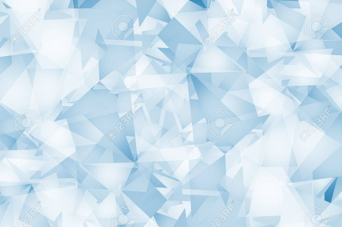 Light Blue Triangles Background Abstract Blue Geometric Background