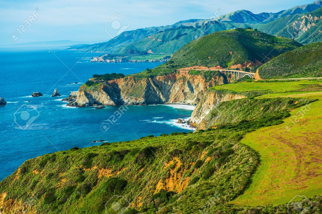 California coastal highway 1 scenic route pacific ocean shore california coastal highway 1 scenic route pacific ocean shore in california united states publicscrutiny Image collections