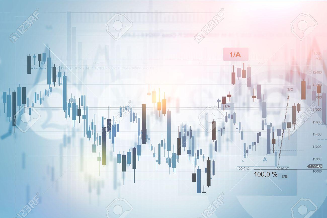 Forex Trading Index Concept Background Illustration. Financial Background. - 51601768