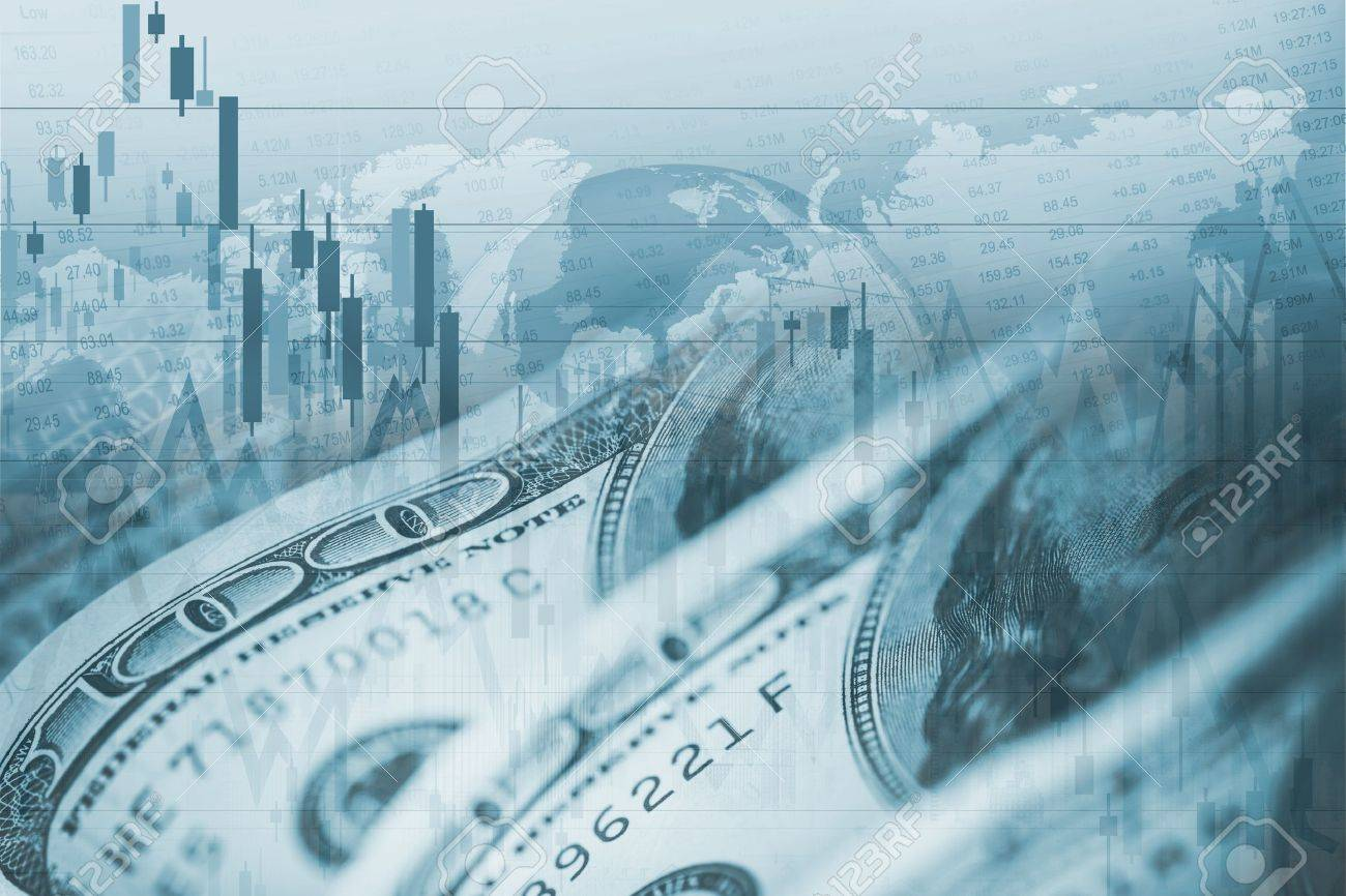 American Dollar Forex Currency Exchange  Financial Theme
