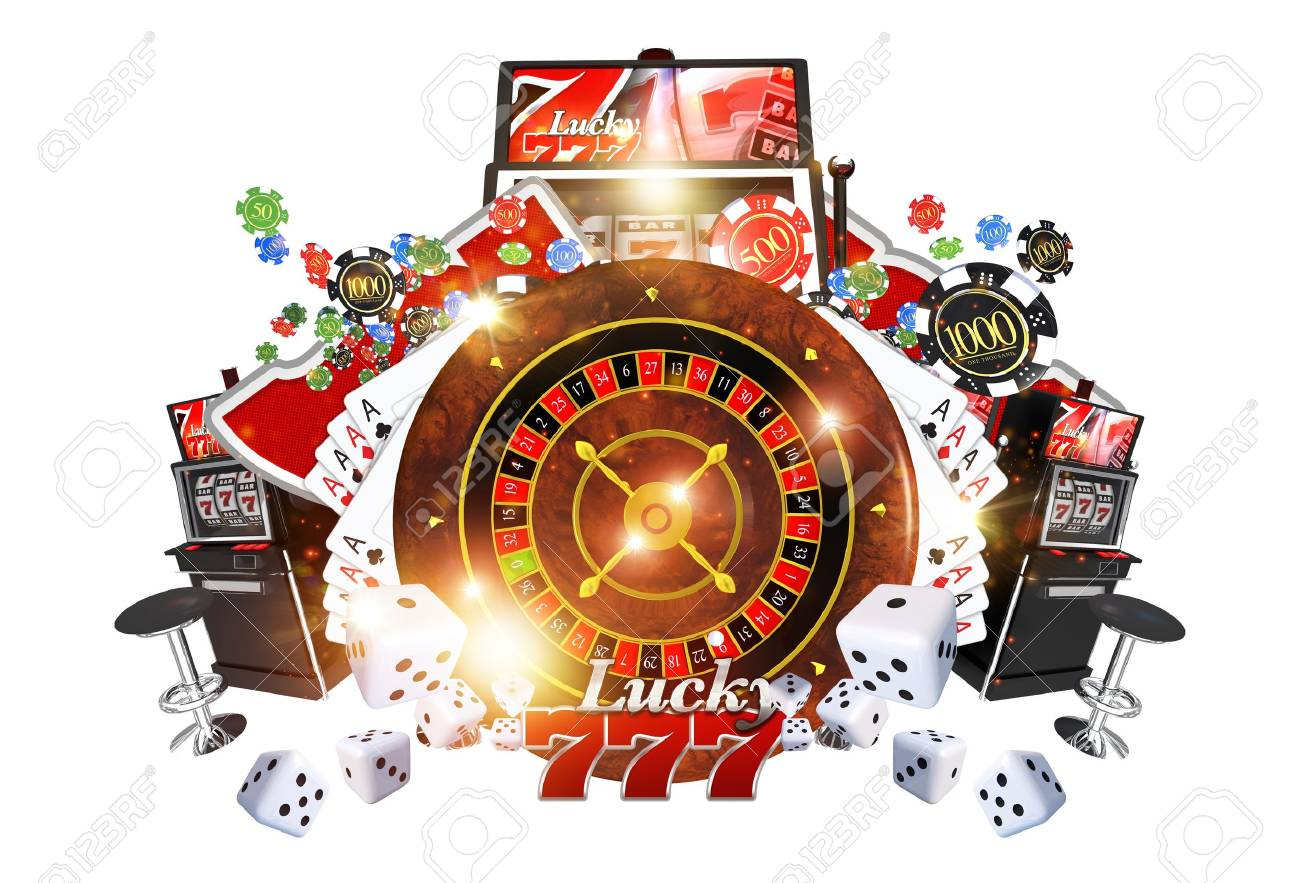Famous Casino Games Concept 3d Render Illustration Casino Roulette Stock Photo Picture And Royalty Free Image Image 69911906