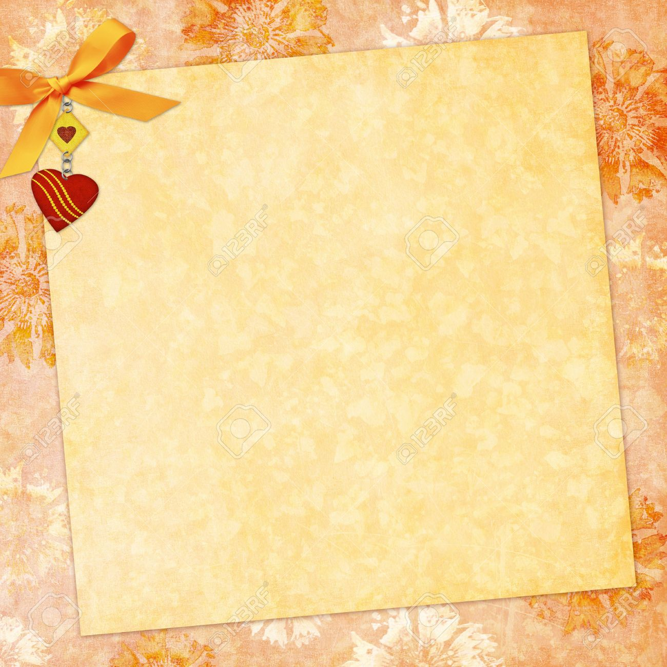 Vintage Background For Invitation Stock Photo Picture And Royalty