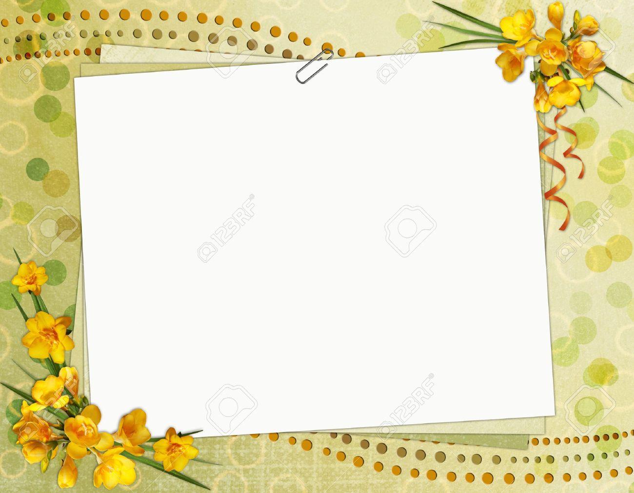 Fantastic Borders For Birthday Invitations Ideas - Invitation Card ...