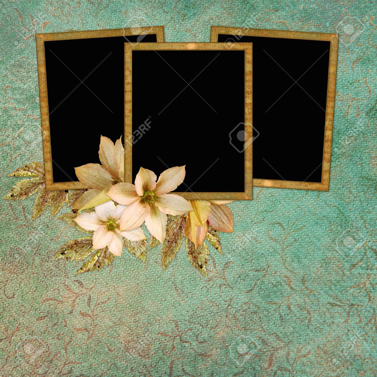 Framework for photo or congratulation. Stock Photo - 8990699