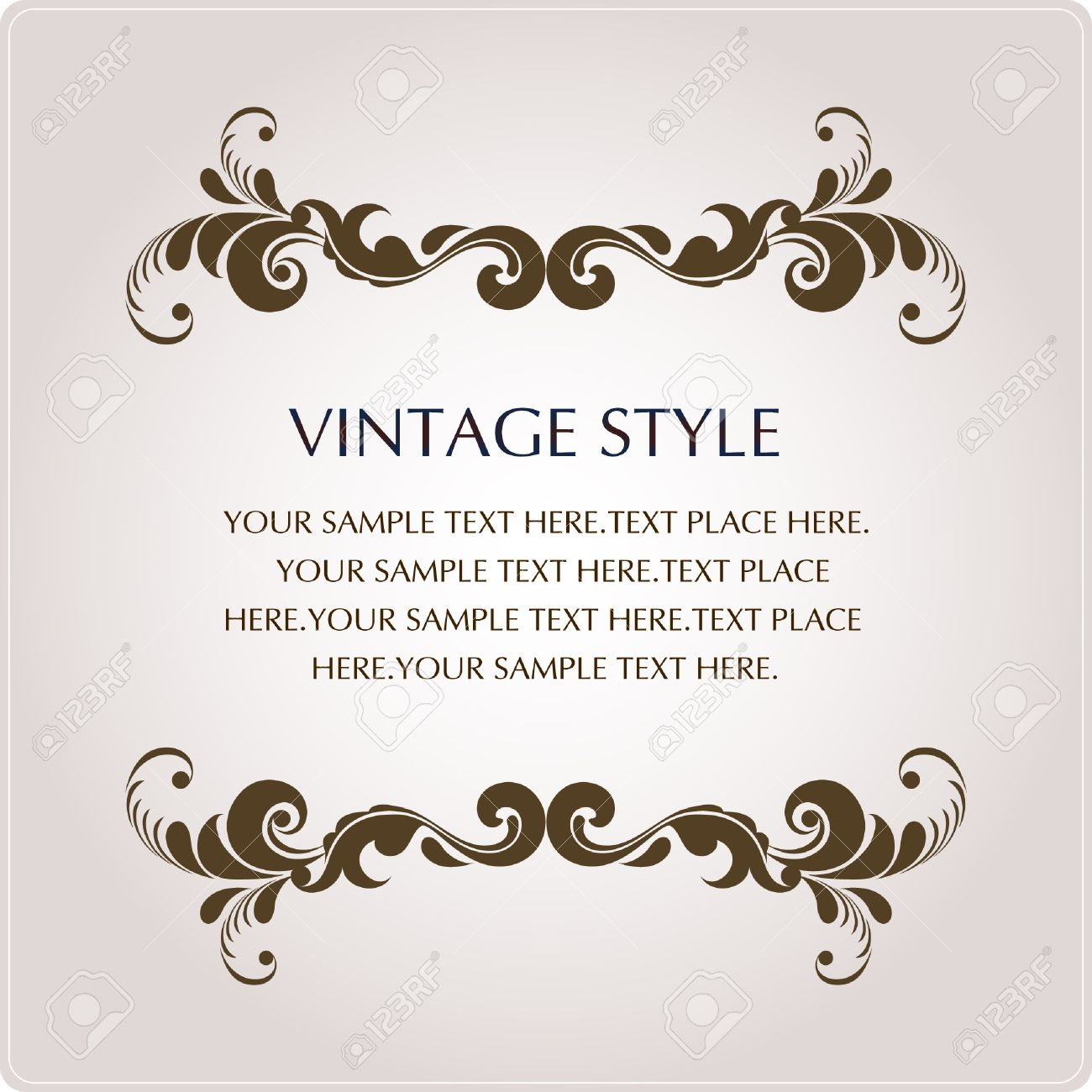 vintage style Stock Vector - 4421527