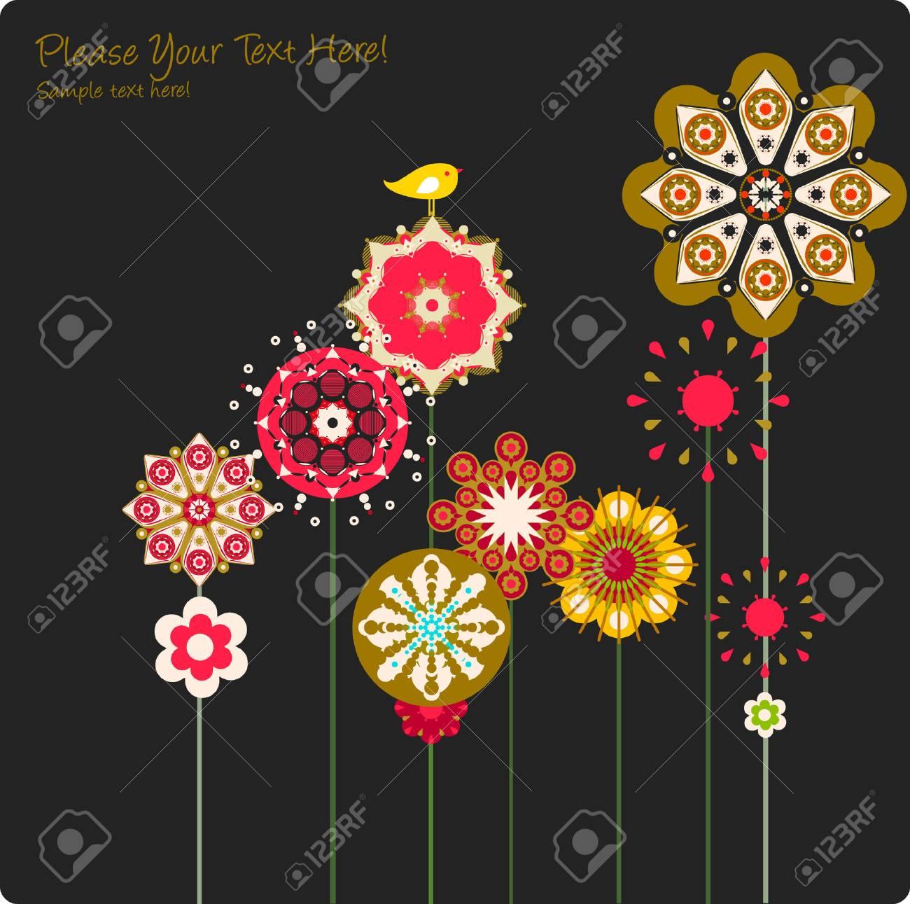 flower Stock Vector - 4915399