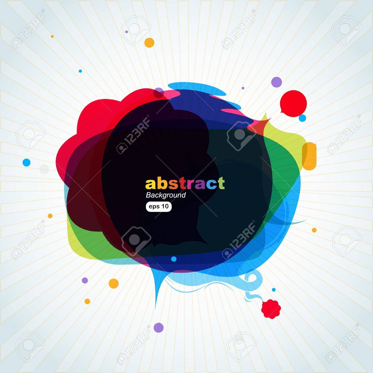 Dialog clouds. illustration Stock Vector - 7904707