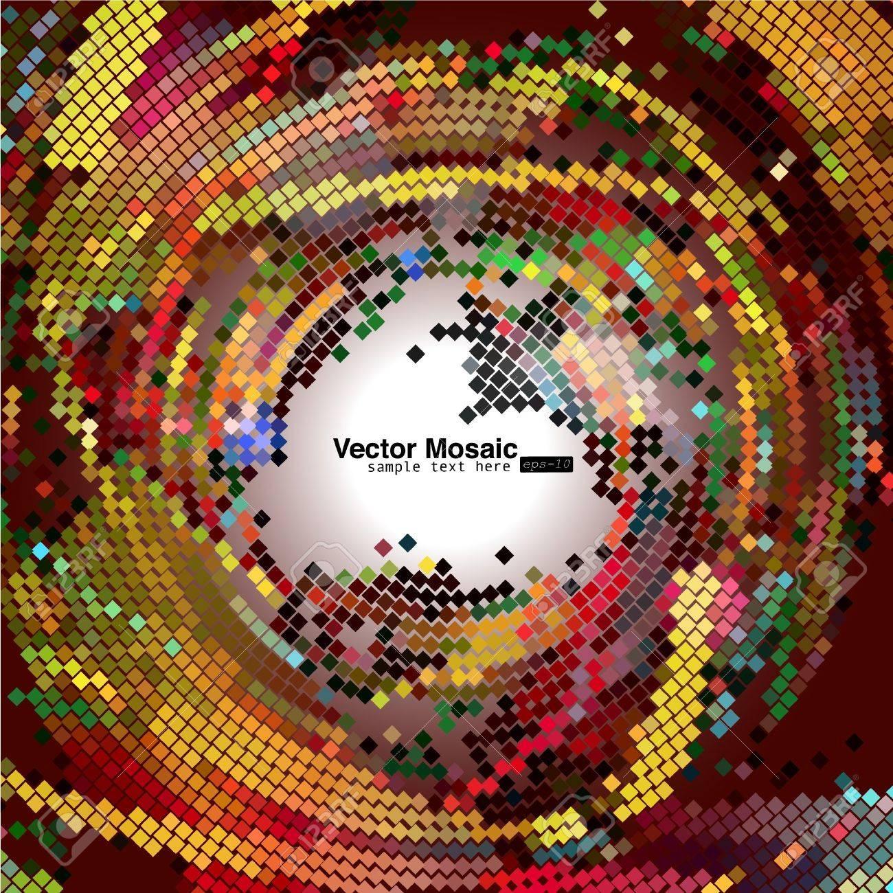 vector mosaic Stock Vector - 9011942