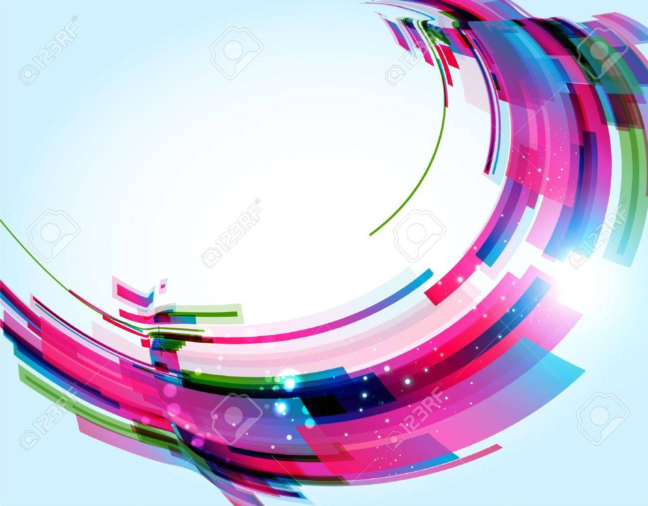 Abstract Background Stock Vector - 9717508