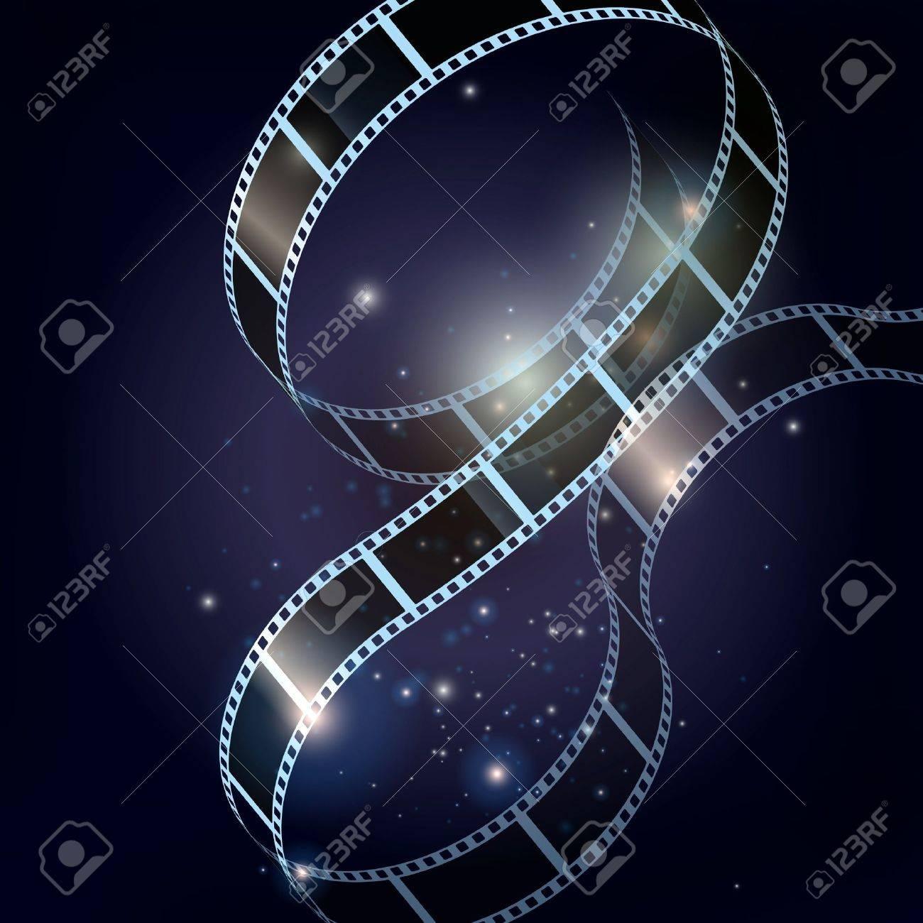 Film strip vector background - 11587307