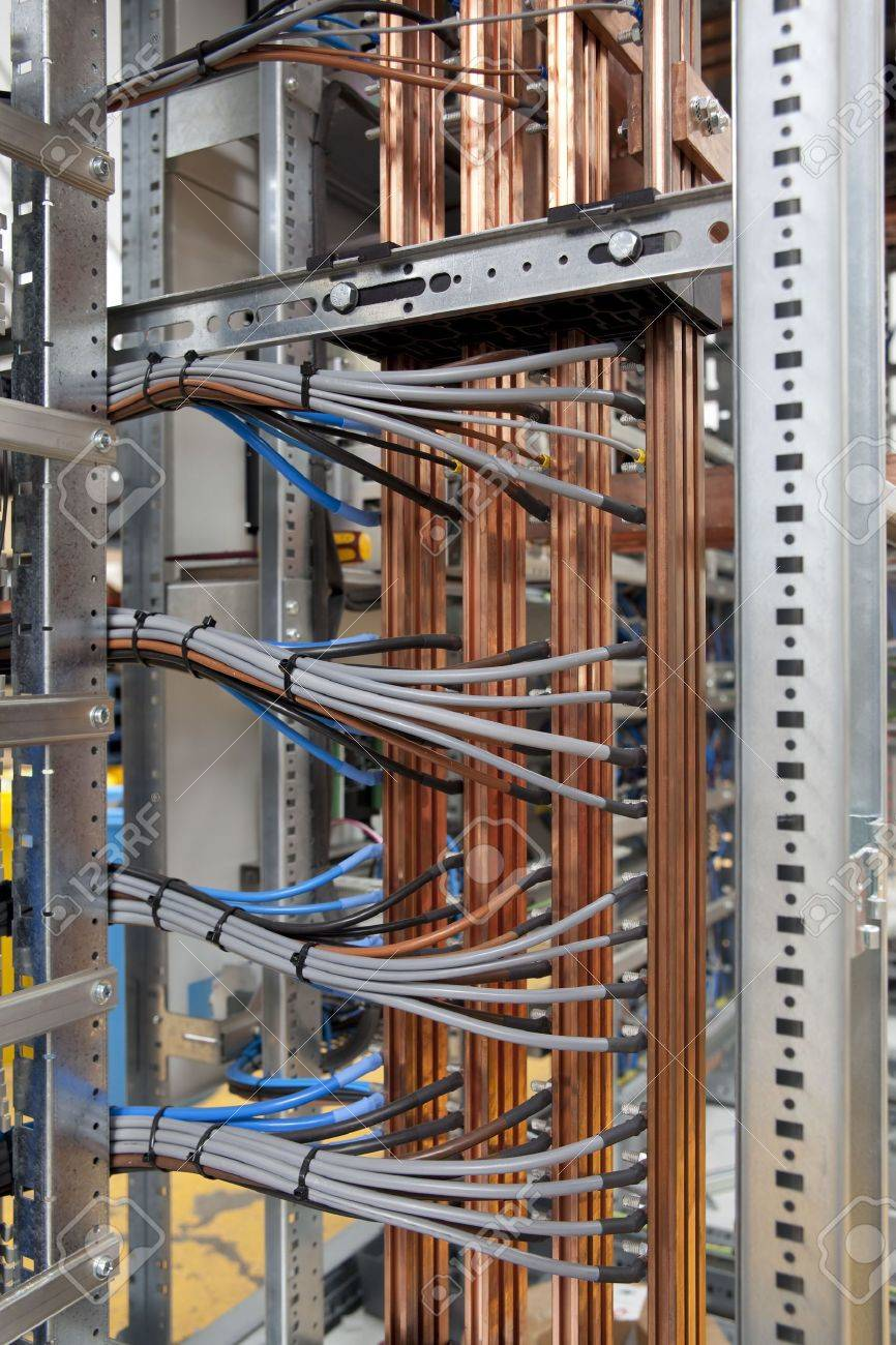 Wires And Cooper In Electrical Panel Board Stock Photo Picture And Royalty Free Image Image 5690303
