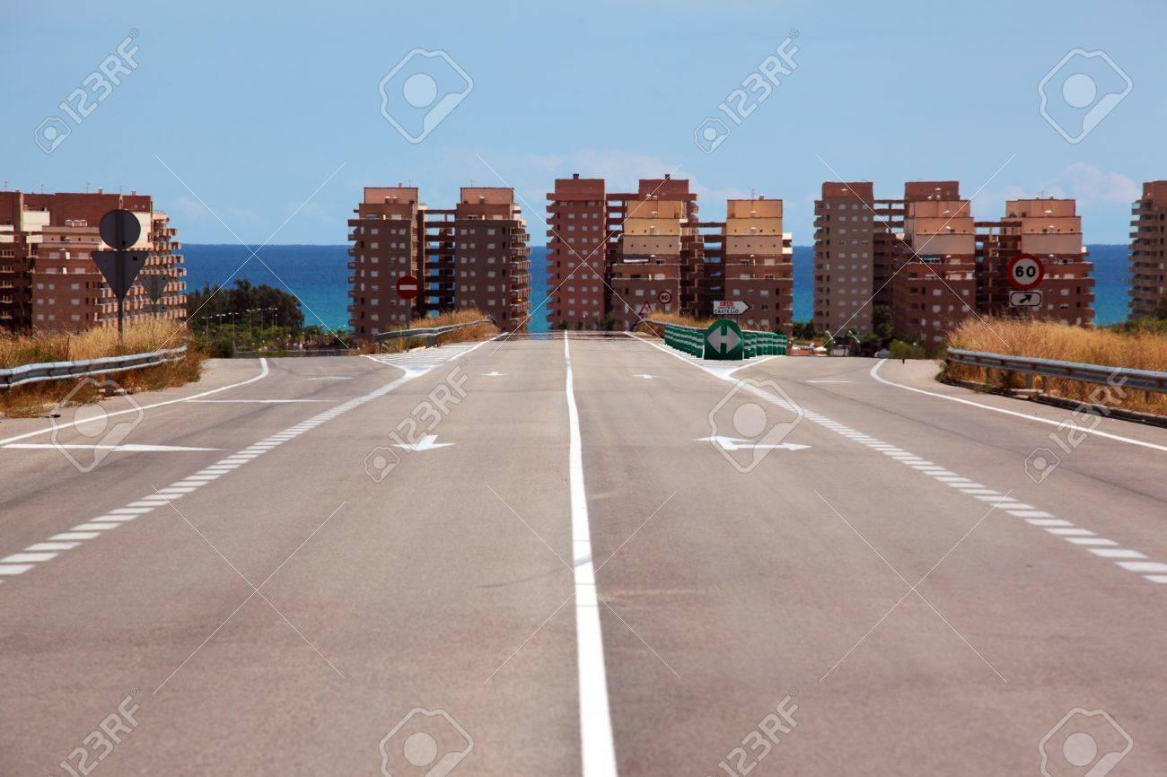 Al Llegar Al Mar En Oropesa Del Mar España Fotos Retratos