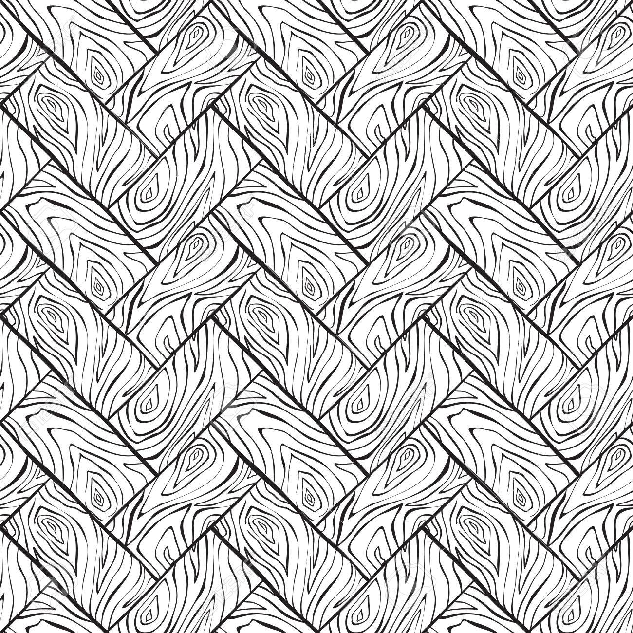 Vector Texture Du Bois Seamless Fond Dessin à Lencre Imitation