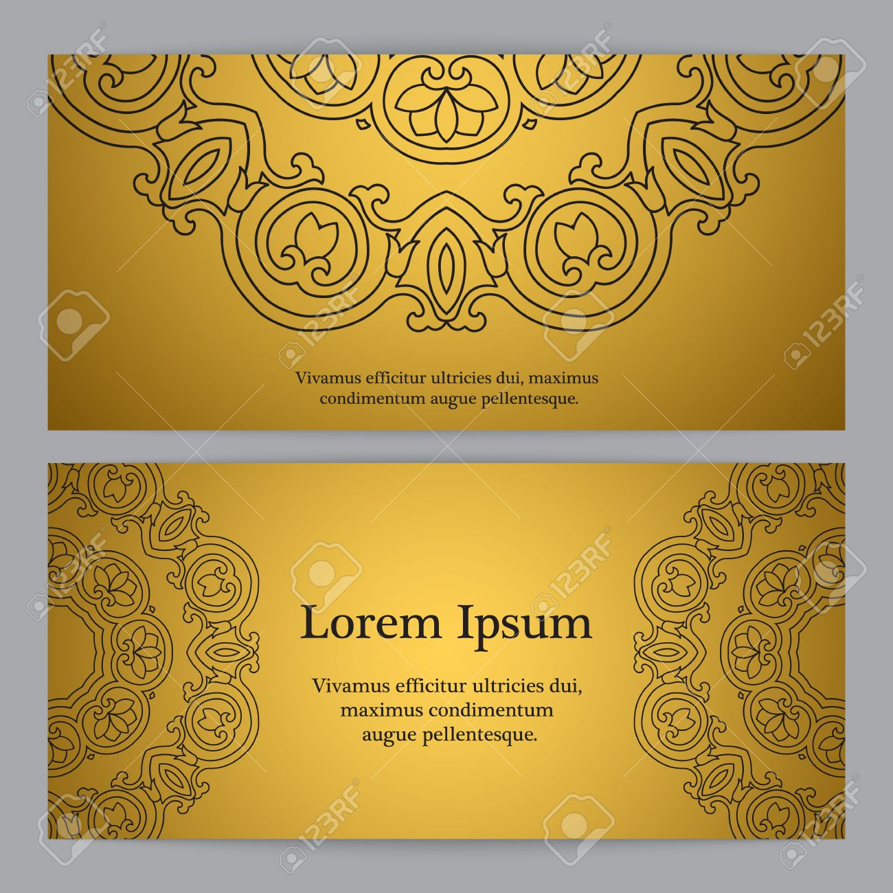 Background with gold ornament inspired by ottoman and islamic inspired by ottoman and islamic ornaments for wedding invitation stopboris Choice Image