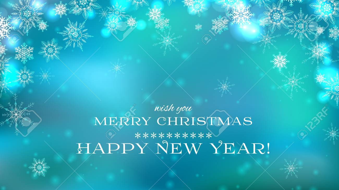 merry christmas and happy new year background in blue color royalty free cliparts vectors and stock illustration image 88296374 123rf com