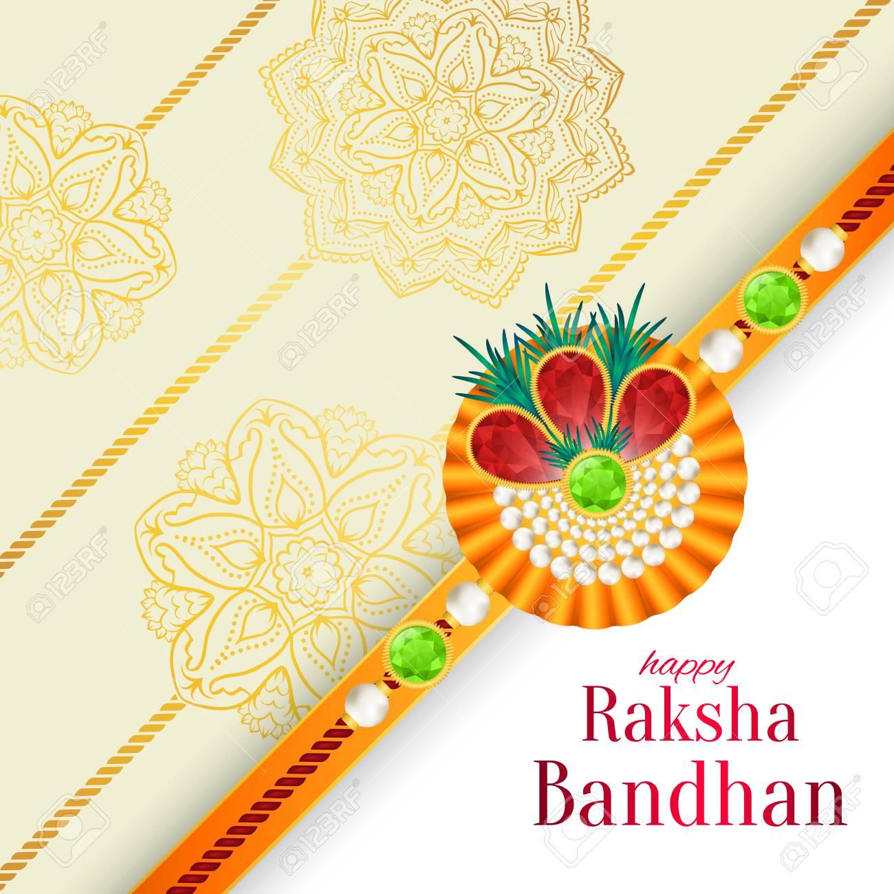 photo relating to Raksha Bandhan Printable Cards titled Raksha Bandhan vector historical past. Rakshabandhan greeting card..