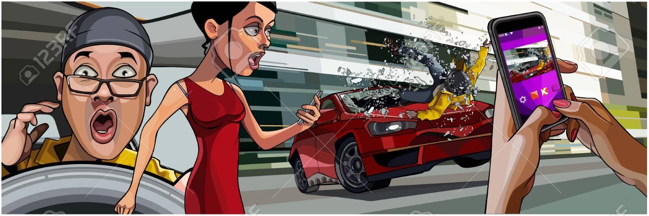 Tolle Autounfall Animation Galerie - Die Besten Elektrischen ...